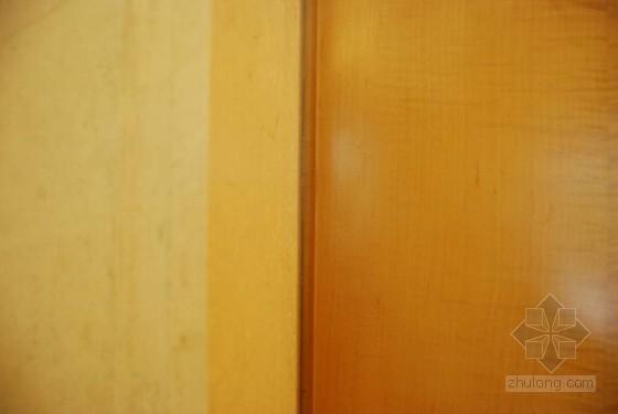 墙面石材与木饰面交接收口工艺工法