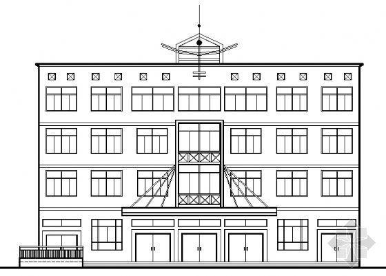 武汉某四层办公楼建筑施工图