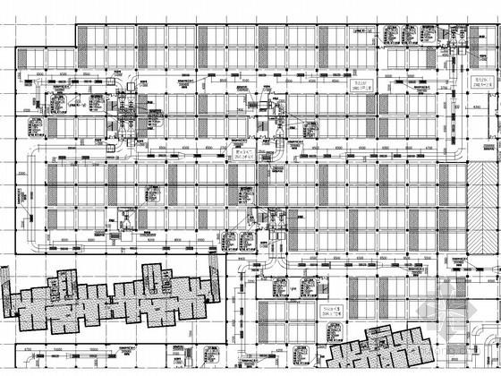 [安徽]多户型高层住宅楼通风及防排烟系统设计施工图(甲级院设计)