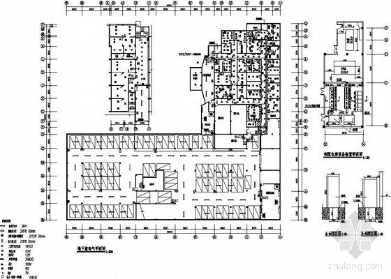 某四层剧院电气改造施工图