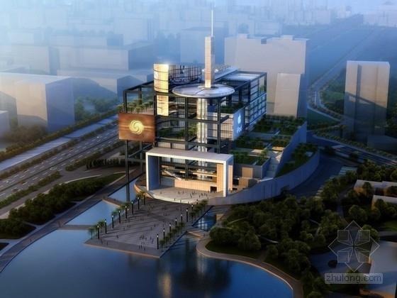 [北京]13层剪力墙结构知名传媒中心建筑设计方案文本(国内知名建筑师设计,含CAD,多媒体)