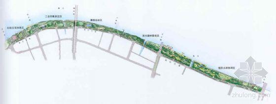 浙江宁波滨水公园景观设计方案