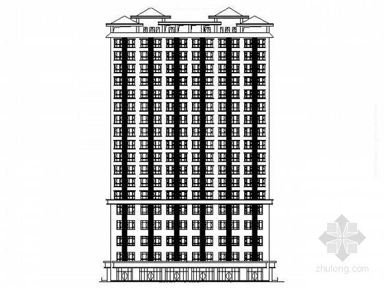 某十六层商住楼建筑施工图
