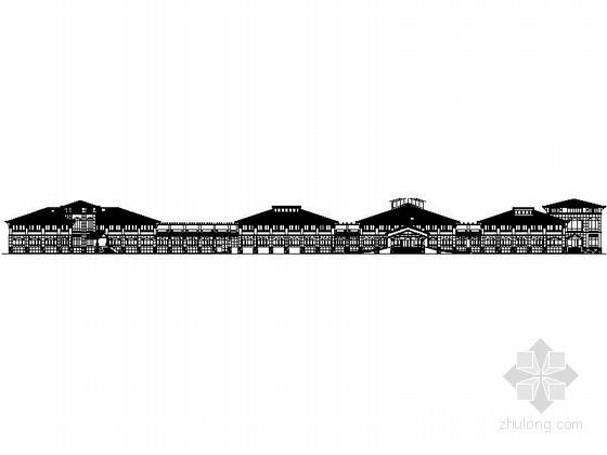 [三亚]某二层欧式高尔夫会所建筑施工图