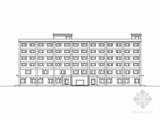[毕业设计]某六层休闲度假旅馆建筑方案图