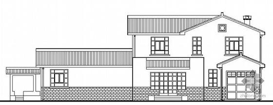 某二层仿古别墅建筑结构施工图