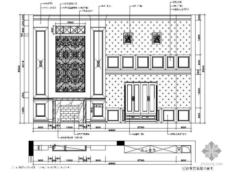 欧式华丽三层别墅室内装修图(含效果)_2