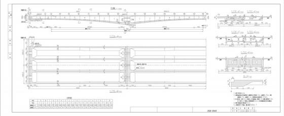 [苏州]国内最大砼连续梁桥转体CAD施工图(130张)