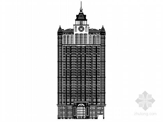 [安徽]多栋塔式住宅建筑施工图(含地下车库及全专业图纸)