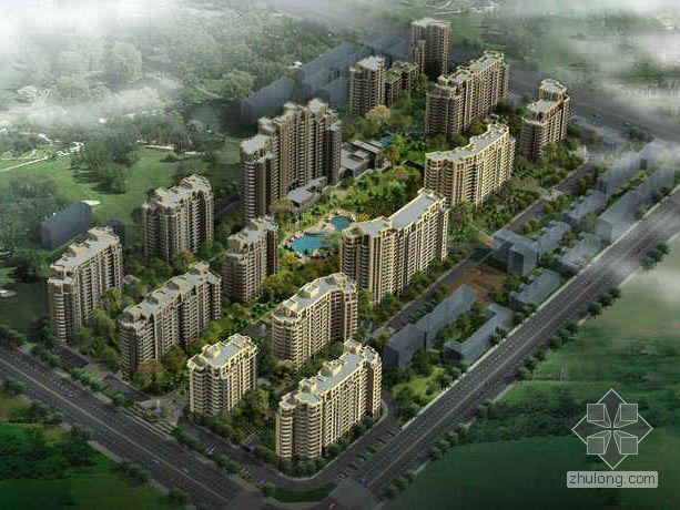 [合肥]某高品质城市居住园区建筑设计分析