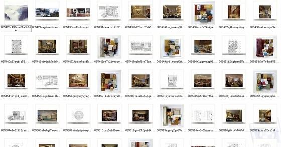 [湖南]别具一格奢华高档五星级商务酒店设计方案资料图纸总缩略图