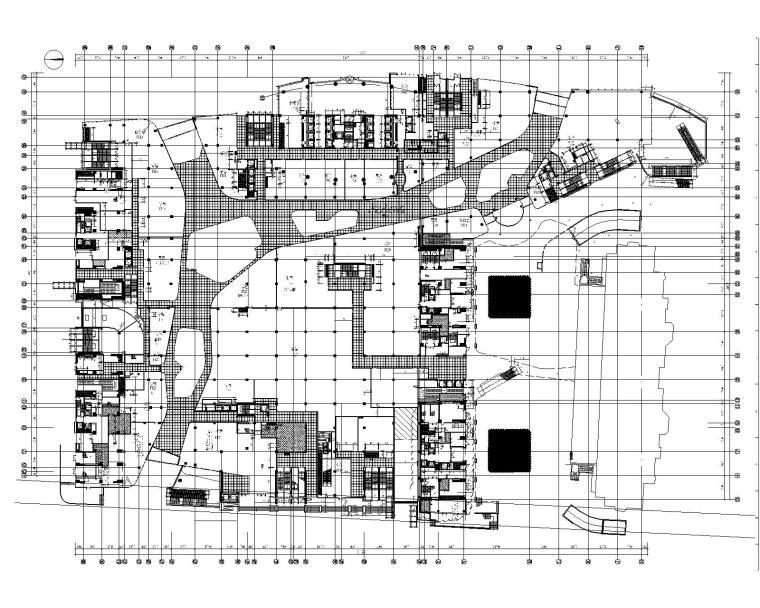 [凯里森]南京江宁景枫KINGMO购物中心1至4层施工图|金螳螂深化