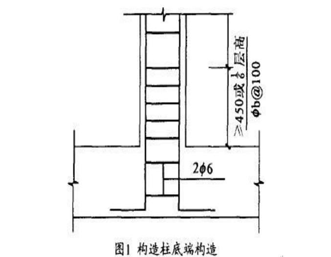 填充墙构造柱设置的原则