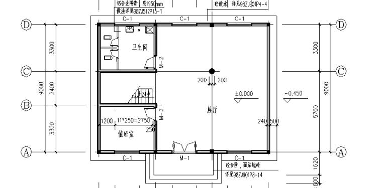 某展示楼工程量清单计价实例(含图纸)