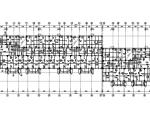 6层带阁楼坡屋面异形柱框架结构住宅楼建筑结构施工图(CAD、29张)