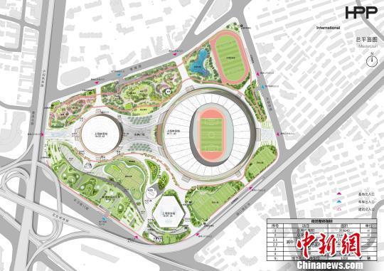 """上海徐家汇体育公园:承载""""体育梦""""的世界级体育综合体"""