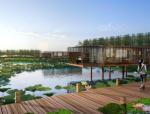 [河南]滨湖郊野生态避难型森林公园景观设计方案