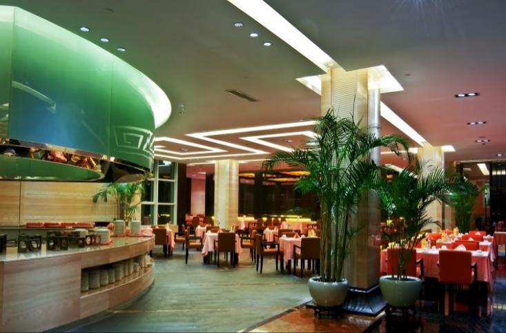 绍兴五星级园林酒店施工图(含实景)-用餐区效果图