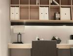 奶茶色调新中式,打造温馨四居室