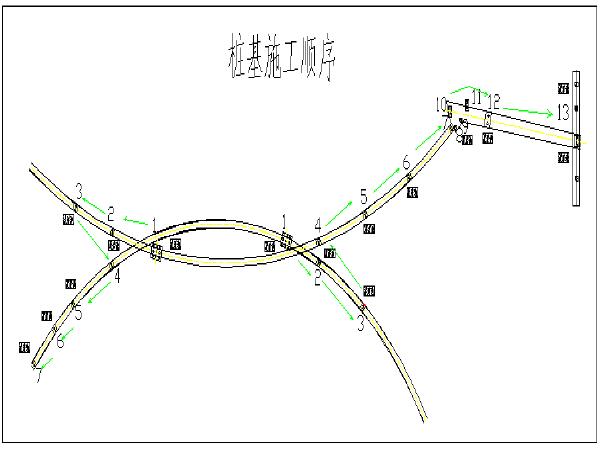 桥梁亮化景观桥工程施工组织设计(Word版84页)