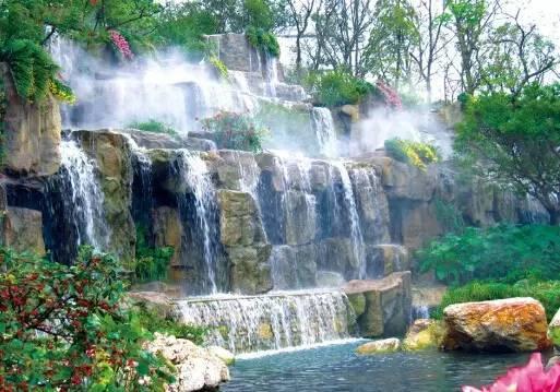 假山瀑布景观设计_4