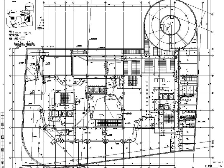 地下一层平面图