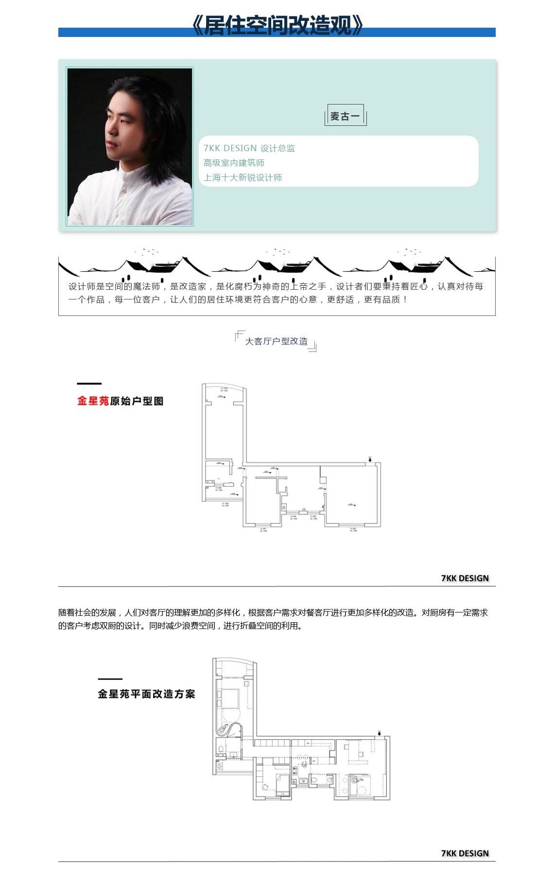 麦古一,7KK DESIGN,设计总监,上海十大新锐设计师,改造,空间魔法,折叠空间