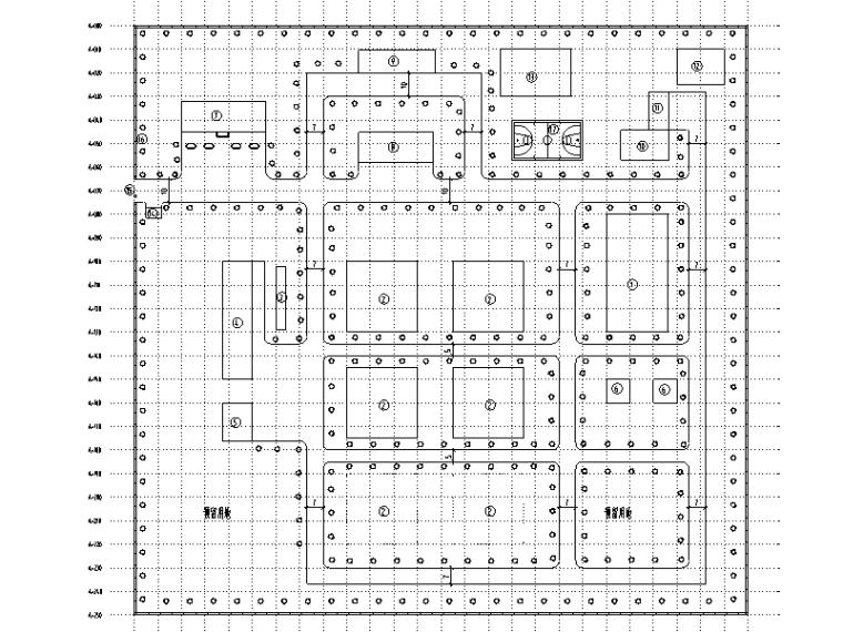 呼伦贝尔市某10万吨净水厂改扩建图纸(CAD)