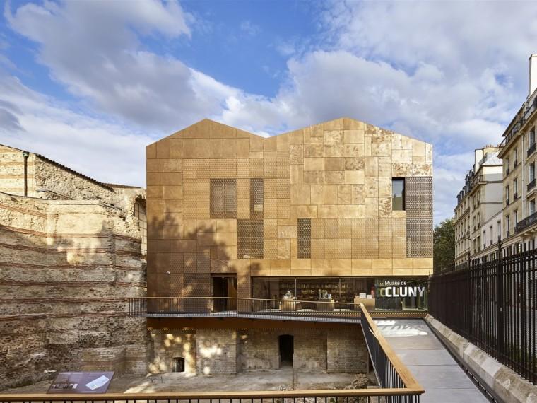 法国国立中世纪博物馆新游客中心