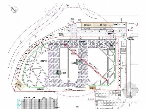 [上海]20米深基坑地下连续墙加四道混凝土支撑支护施工方案(降水详细 附施工图)