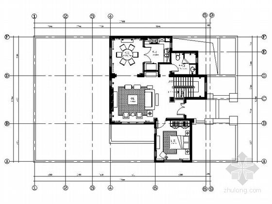 [江苏]欧式风情三层别墅样板房装修图(含效果)