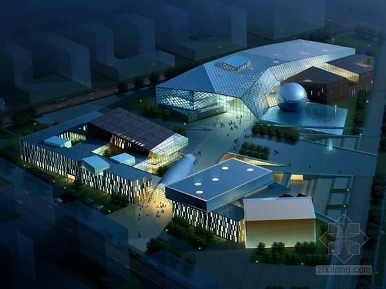 [唐山]市级几何造型青少年活动中心建筑设计方案文本