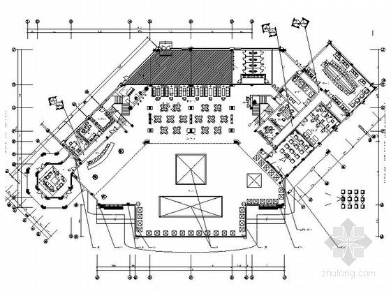 [福州]高档奢华欧式国际售楼部装修图(含实景)