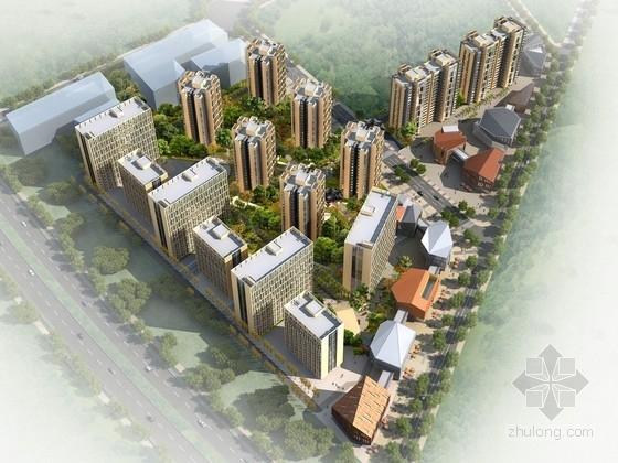 [四川]现代风格高层保障性住宅区规划设计方案文本(含CAD)
