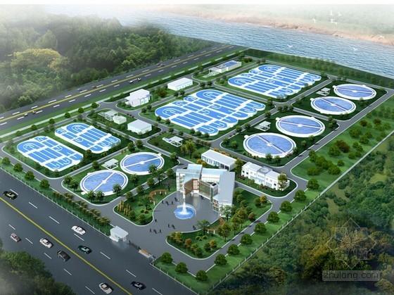 [广东]污水处理厂建筑工程预算书(GZB4格式)