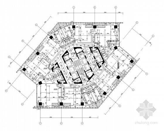 [江苏]电器广场建筑全套给排水施工图纸(塔楼、裙房)