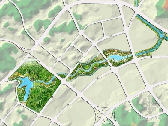 [四川]人文生态健康休闲滨水景观规划设计方案