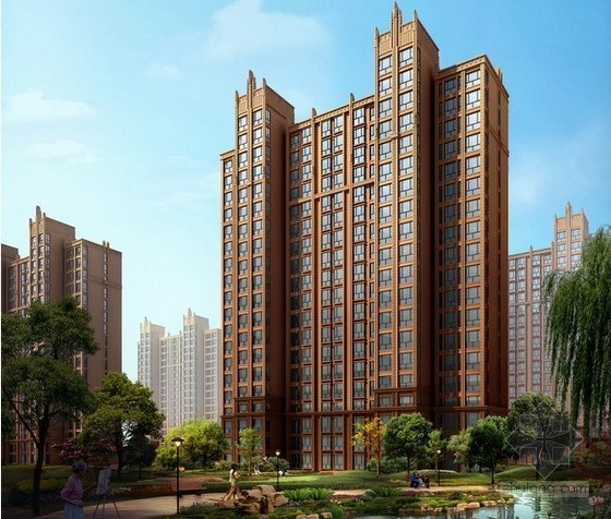 [毕业设计]西安18层住宅楼施工组织设计及工程量清单计价(综合单价分析)