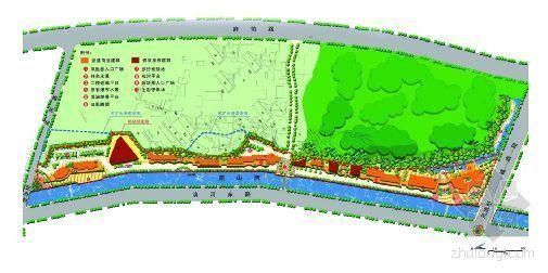 河滨风情街景观设计