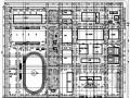 [河南]某培训基地绿化工程总图设计