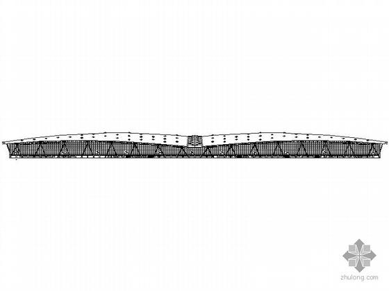 [济南]某国际机场航站楼建筑幕墙施工图