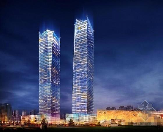 [湖北]超高层框剪结构综合商业建筑安全监理规划(包含办公楼 酒店)