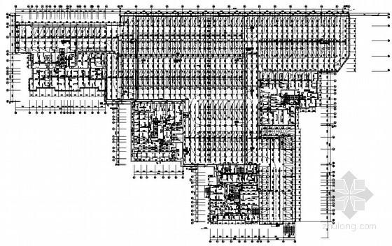 [重庆]大型综合性居住小区全套给排水施工图纸(含7栋高层、地下室)