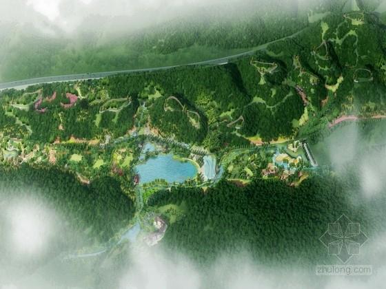 [福建]特色群落植物园景观规划设计方案