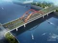 [江西]下承式钢管混凝土系杆拱桥改造设计施工图50张(含人行通道 桥侧道路)