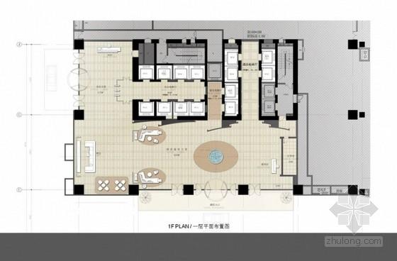 [江苏]高档五星级现代风格酒店软装室内设计方案