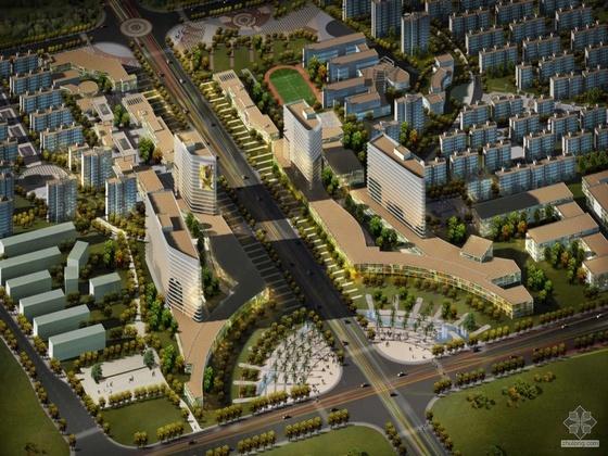 [济南]某新城设计方案文本(A1、A3)
