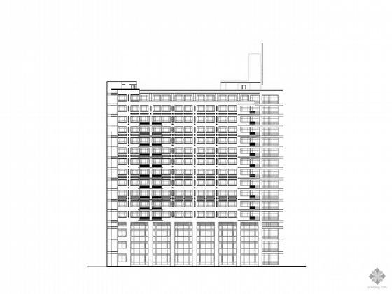 [上海]某三级甲等专科医院住院楼方案扩初图和建筑施工图
