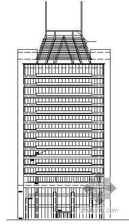 [江西]某十八层高层办公建筑设计方案