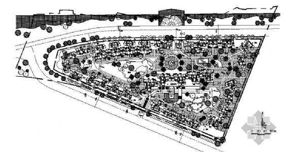某小区(2772号)规划平面图
